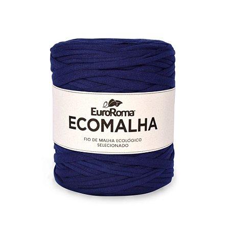 Kit Fio de Malha EcoMalha 80m Tons de Azul Marinho com 5 unidades