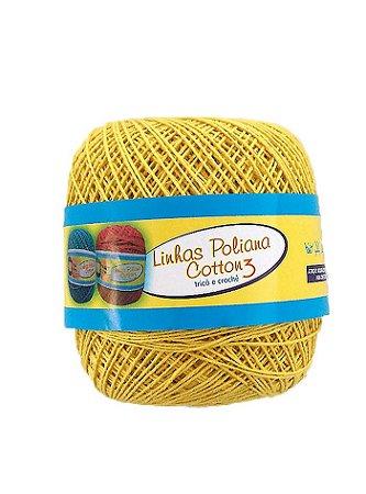 Linha Poliana Cotton 350m - Amarelo Bebê