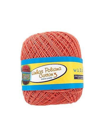 Linha Poliana Cotton 350m - Laranja Claro