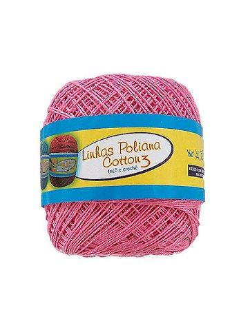 Linha Poliana Cotton 350m - Rosa Médio