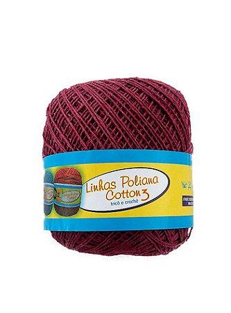 Linha Poliana Cotton 350m - Vinho