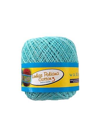 Linha Poliana Cotton 350m - Azul Bebê