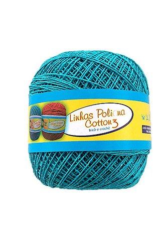 Linha Poliana Cotton 350m - Azul Turquesa
