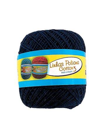 Linha Poliana Cotton 350m - Azul Marinho