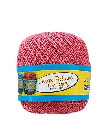 Linha Poliana Cotton 350m - Goiaba
