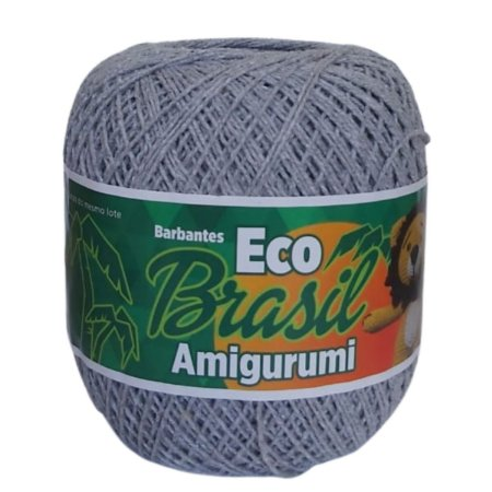 Linha Amigurumi EcoBrasil Cinza 150g