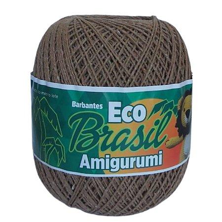 Linha Amigurumi EcoBrasil Castanho 150g