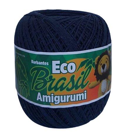 Linha Amigurumi EcoBrasil Soberano Azul Marinho 150g