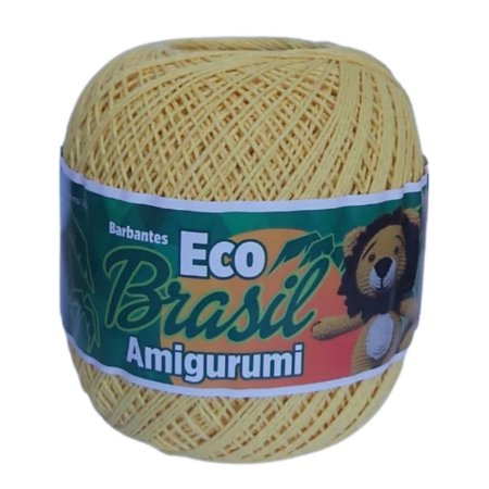 Linha Amigurumi EcoBrasil Amarelo Bebê 150g