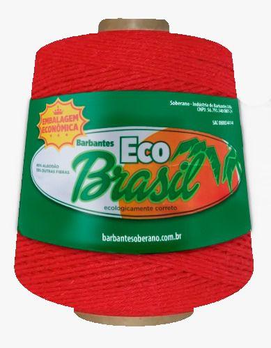 Barbante EcoBrasil  Vermelho 600g – 512 metros