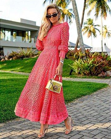 Vestido Luisa Color