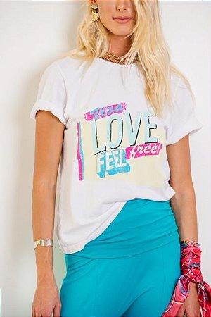 T-Shirt Viva Love - SLOW STYLE