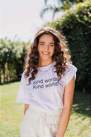 T-Shirt Kind Branco PP - BIANZA