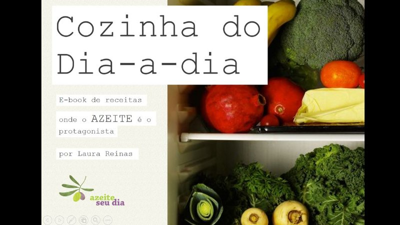E-Book de Receitas - Cozinha do Dia-a-Dia - Laura Reinas