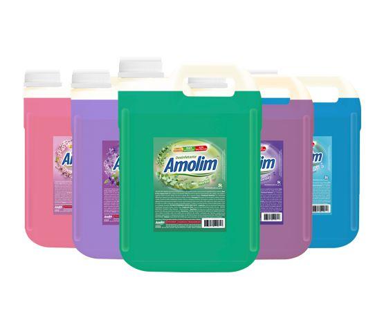 Desinfetante Mandarim / Karite / Acqua / Eucalipto 5L