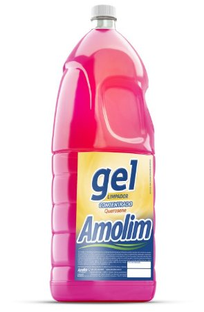 Querosene Gel Amolim 2lts Pacote C/6 Unid.
