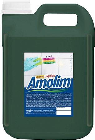 Cloro Líquido Amolim 5lts