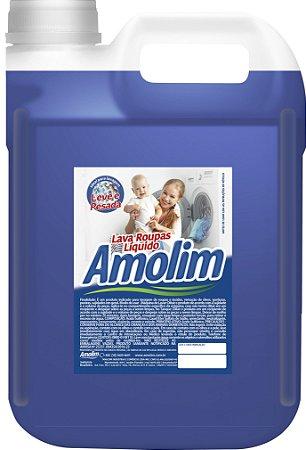 Lava Roupas Líquido Clássico Amolim 5l