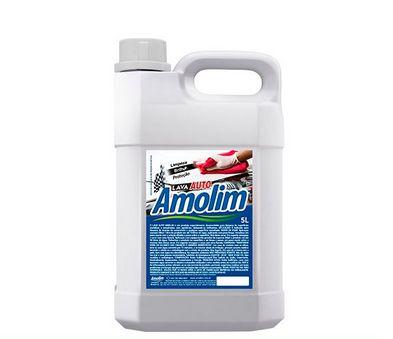 Lava Auto Amolim 5lts Com Cera