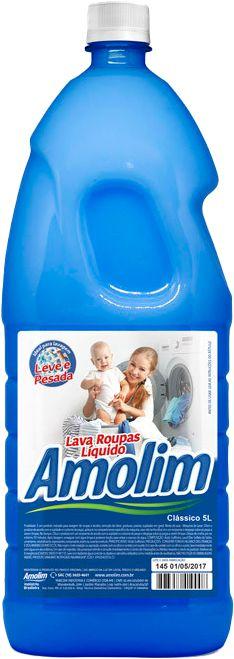 Lava Roupas Líquido Clássico Amolim 2l