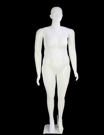 MANEQUIM FEMININO PLUS SIZE (BASE VENDIDA SEPARADAMENTE)
