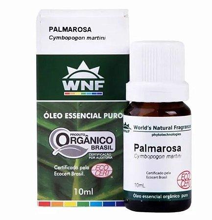 Óleo Essencial de Palmarosa Orgânico - 10ml