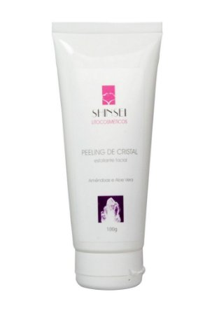 Esfoliante Facial Peeling de Cristal  - 100g - Shinsei Cosméticos