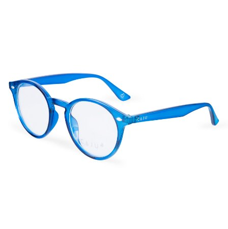Armação para óculos de grau redondo - Jequitibá - Azul