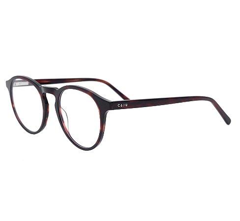 Armação para óculos de grau redondo - Iguaçu - Tartaruga