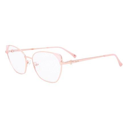 Armação para óculos de grau gatinho - Iara - Rosa