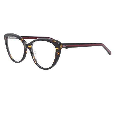 Armação para óculos de grau gatinho - Arara - Tartaruga