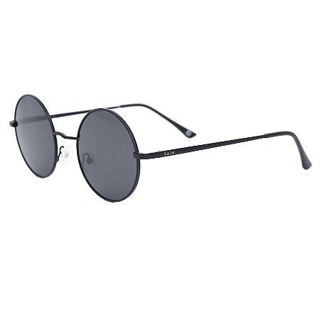 Óculos de sol redondo - Ovelha negra - Preto