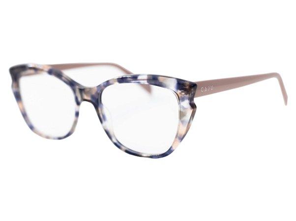 Armação para óculos de grau gatinho - Iça - Tartaruga/nude
