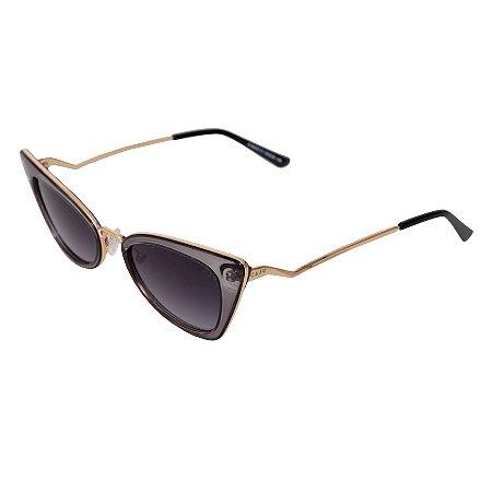Óculos de sol retrô gatinho - Vatapá - Grafite