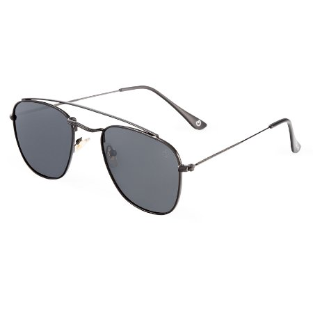 Óculos de sol aviador - Forró - Chumbo