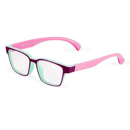 Óculos de grau infantil - Peteca - Roxo