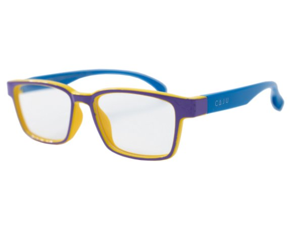 Óculos de grau infantil - Peteca - Lilás