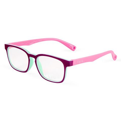 Óculos de grau infantil - Casinha - Roxo