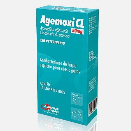 AGEMOXI CL - 10 COMPRIMIDOS - ANTIBIÓTICO - AGENER UNIÃO