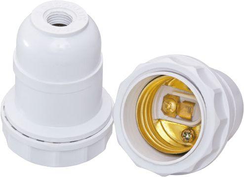 SOQUETE COLUNA SIMPLES E27 2A 250V COM 10 UN