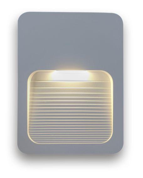 BALIZADOR FIT LED 2W SOBREPOR BIVOLT IP65 CAIXA 4X2