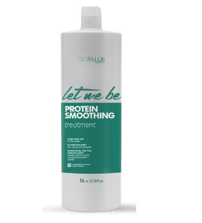 Escova Protein Smoothing Let Me Be ProSalon 1L Sem Formol