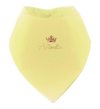 Babador Bandana Personalizado Yellow