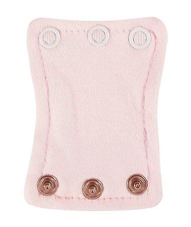 Extensor de Body com 3 botões Rosa Bebê