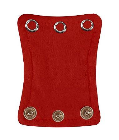 Extensor de Body com 3 botões Vermelho