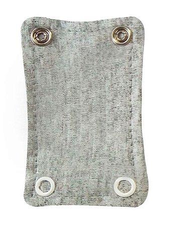 Extensor de Body com 2 botões Cinza Mescla