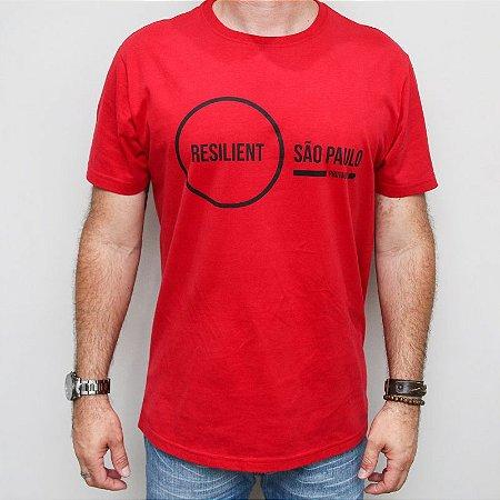 Camiseta Slim Resilient SP Vermelha
