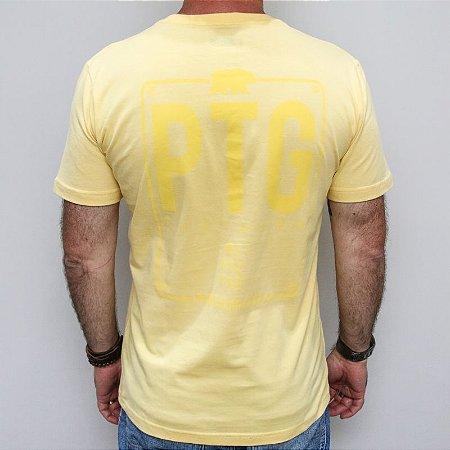 Camiseta Slim PTG Amarela