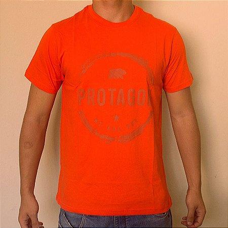 Camiseta Protagon Laranja
