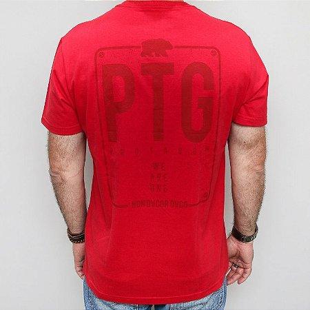 Camiseta Slim PTG Vermelha
